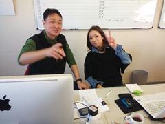 安部部長とchiharuさん
