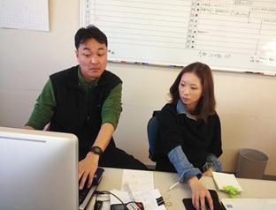 安部部長とchiharuさんによるサイトコーディング