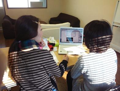 イラストレータースクール岡山さんと生徒さん