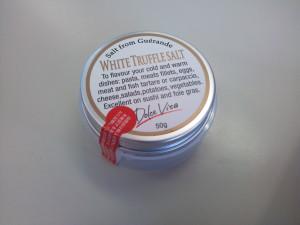 ホワイトトリュフ塩