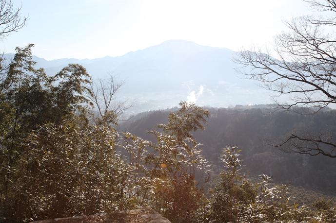 苗木城から恵那山