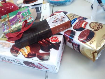 バレンタインでチョコを頂きました