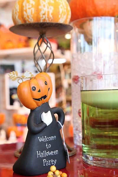 ハロウィン_かぼちゃの置物