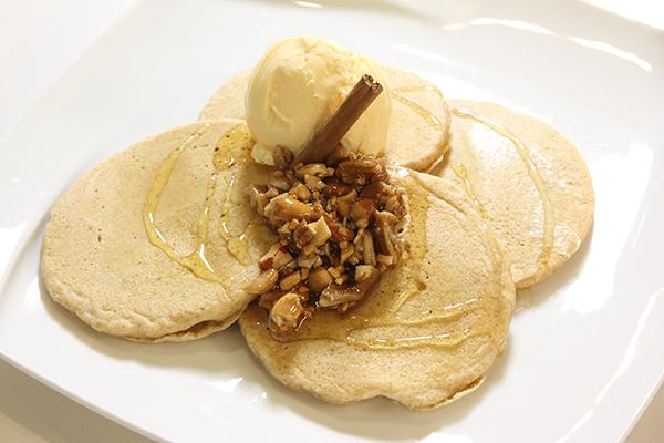 ハニーナッツのパンケーキ