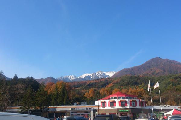 駒ヶ岳SA