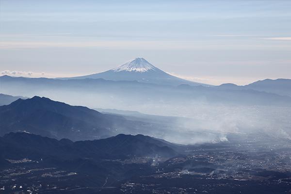 赤岳から見た富士山2