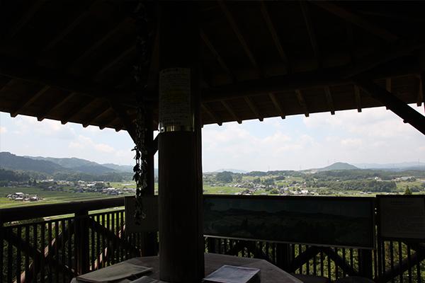 岩村町_農村景観日本一_やぐらからの眺め