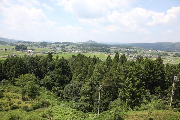 岩村町_農村景観日本一_やぐらからの眺め2