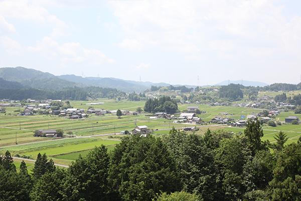 岩村町_農村景観日本一_やぐらからの眺め3