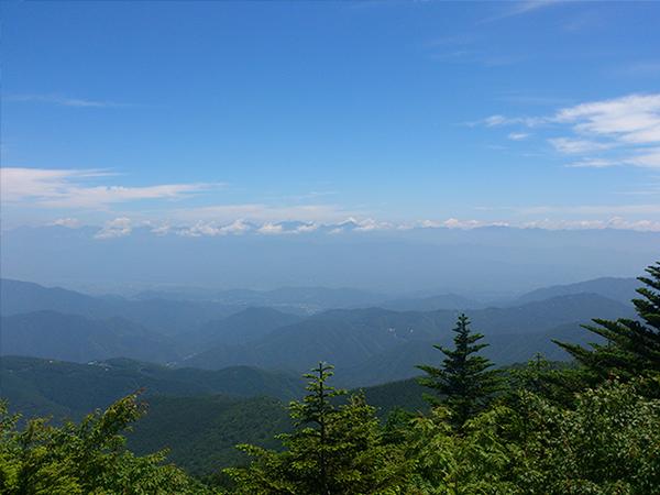 恵那山_山頂からの眺め