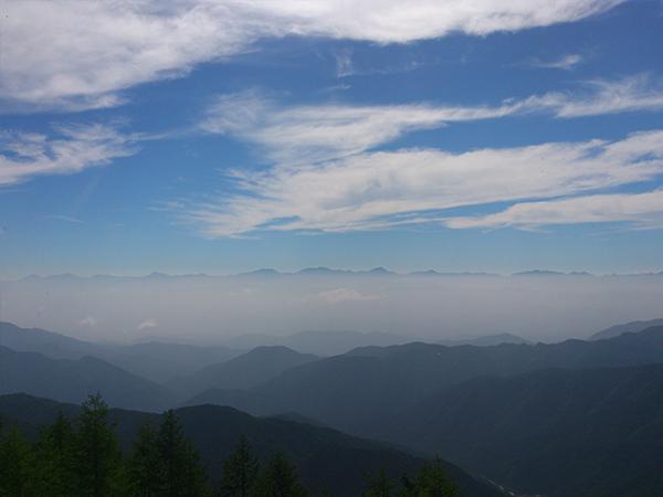 恵那山_登山道からの眺め4