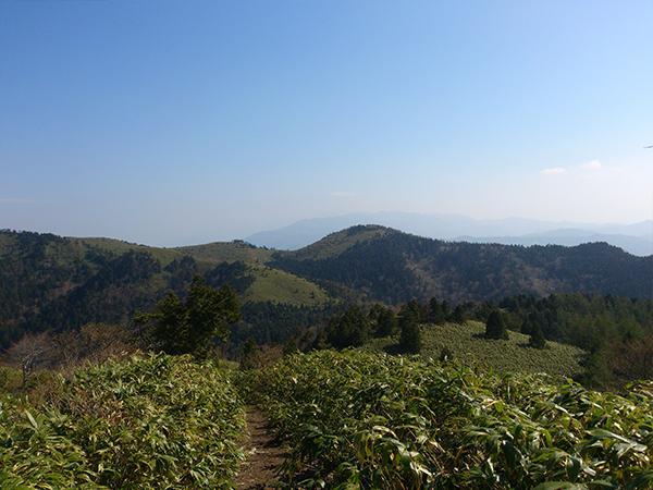 02富士見台高原方向を振り返って