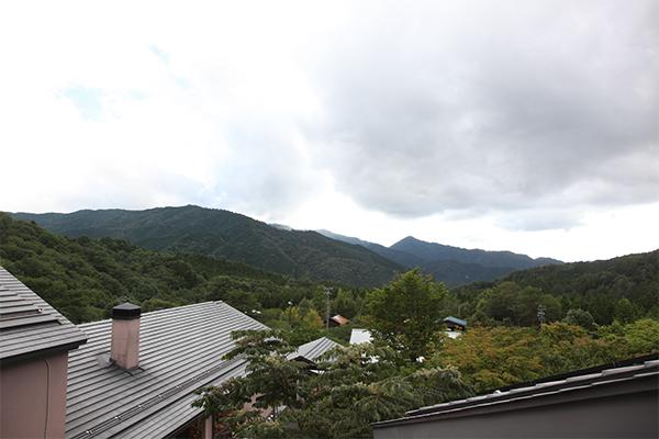 木曽の山々
