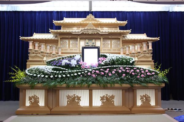 中津川斎苑_大感謝祭_祭壇